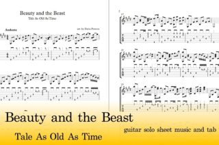 Beauty and the Beast Guitar Tab