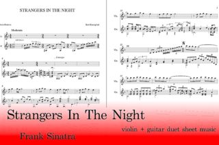 Strangers In The Night Guitar and Violin Sheet Music