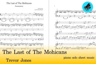 the last of the mohicans piano sheet music