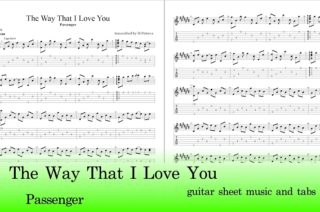 The Way That I Love You Guitar Tab
