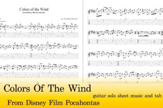 Colors Of The Wind Guitar Tab