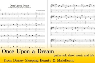 Once Upon A Dream Guitar Tab