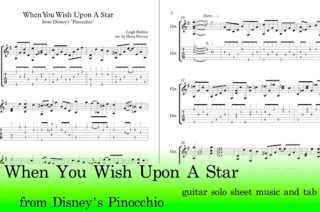 When You Wish Upon A Star Guitar Tab