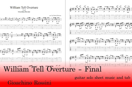 William Tell Overture Final Guitar Tabs